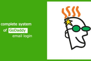 The complete system of GoDaddy email login